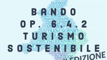 """Proroga scadenza Bando 6.4.2 """"Turismo sostenibile"""" II edizione"""